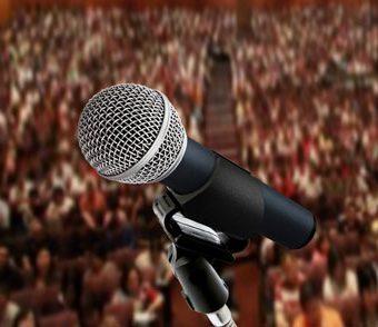 Técnicas de discurso e apresentações em público