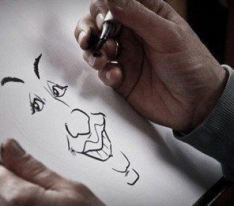 Desenho de Caricaturas