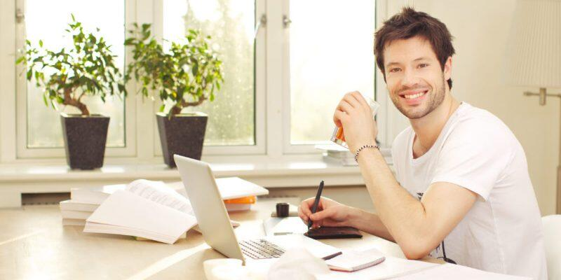 estudar em casa